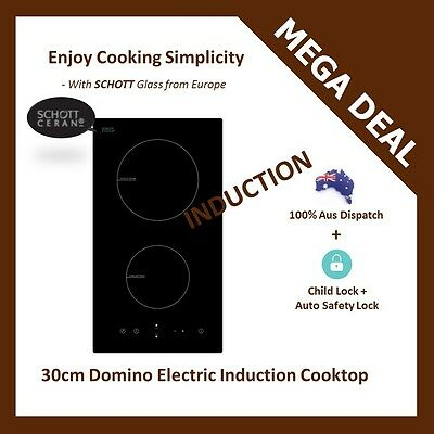 NEW EUROPEAN GLASS 30cm DOMINO ELECTRIC INDUCTION COOKTOP Cable