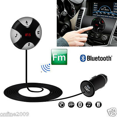 Bluetooth FM Transmitter Wireless Car Kit Mp3 Player USB Charger Modulator