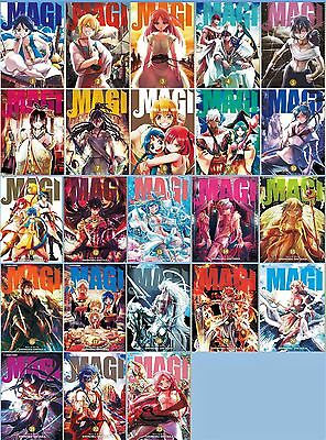 Magi The Labyrinth of Magic MANGA Series Collection Set Books 1-23 BRAND NEW!