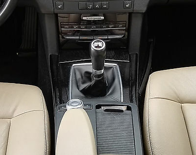 Leather Gear Shift Gaiter Cover Sleeve fit  Mercedes Class E W212 2009 ->