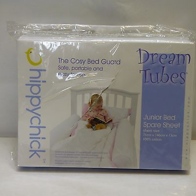 Hippychick Dream Tube Bed Bumpers - Cot Bed, One Tube Spare Sheet 71x146x15cm