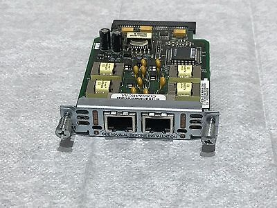 Cisco VIC2-2E/M 2 Port Voice Interface Card for 1841 2801 2811 2821 2851 3825