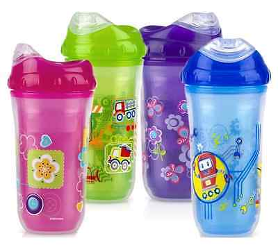 Nuby Insulated Cool Sipper No-Spill Toddler 270ml Cup +18m - choose your colour!