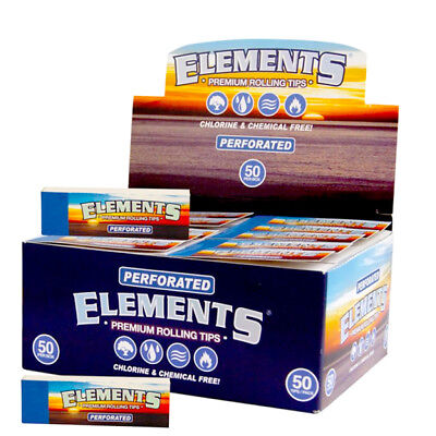 Elements Perforated Rolling Filter Tips Premium Cigarette Joint Roller UK