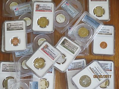 SALE  - PCGS  or NGC GRADED PROOF or MS UNC - 1 COIN Per Lot