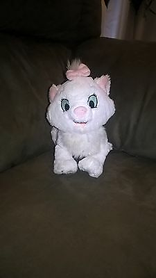 Disney's Tote a Tail Plush Marie the Cat from the Aristocats 9 inches long