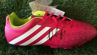 Manchester United Jesse Lingard Signed Football Boot Memorabilia Autograph Proof