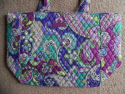 Vera Bradley Grand Tote 2.0 Travel Bag Carry On Tote in HEATHER, New w/Tag