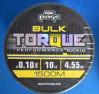 Fox Rage Pro X8 Premium Braid Orange 120m geflochtene Angelschnur