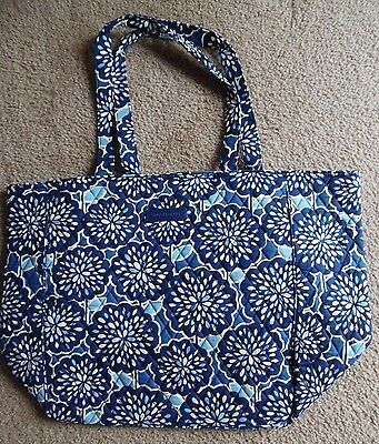 Vera Bradley Grand Tote 2.0 Travel Bag Carry On Tote in PETAL SPLASH, New w/Tag