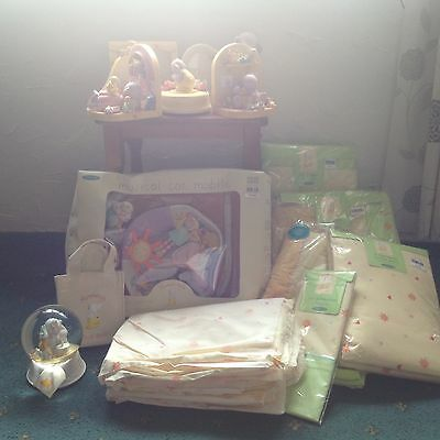 A Beautiful Collection of Humphrey's Corner Nursery Bedding and Ornaments BNWT