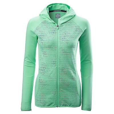 Kathmandu Esperite Womens Active Lightweight Quickdry Stretch Hoody Top v4 Green
