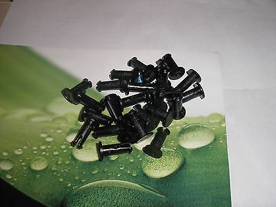 25 New NEPTUNE Water Meter Register locking pins (Plastic) T-10  lot of 25