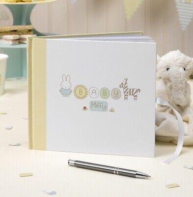Miffy Baby Shower Christening First 1st Birthday Party 32 Page Guest Book