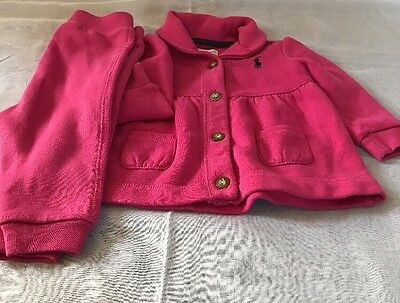 ralph lauren baby girl 6 months In Pink 2 Piece Set