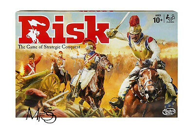 RISK Board Game The Game of Strategic Conquest Newest Risk *  Brand New