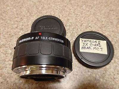 TAMRON 2X Tele-Converter for CANON EOS Digital Cameras and EF Lenses