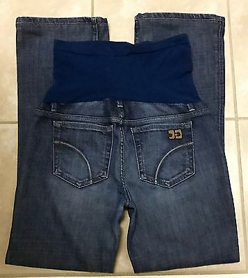 Joe's Jeans A Pea in the Pod Maternity Bootcut Stretch Blue Jeans size 29 x 31