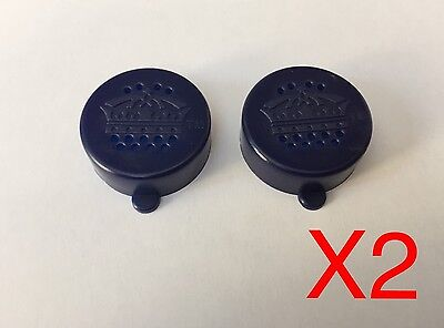 2 Salt And Pepper Shaker Plastic Caps Lids Beer Bottles - Suit BINTANG / CORONA