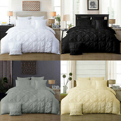 1000TC Extremly SOFT Flat & Fitted Sheet Set Queen/King/Super King Size Bed New