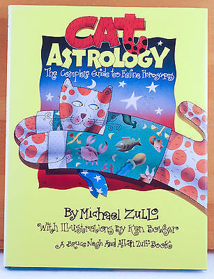 Cat Astrology Guide to Feline Horoscopes by Michael Zullo Illustrated 1st Ed