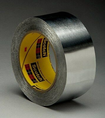 "NEW 3M 425 2"" High Performance Aluminum Foil Adhesive Tape"