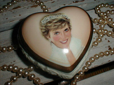 Princess Diana*Queen Of Our Hearts*Limited Ed. Musical Trinket Box A Elliot