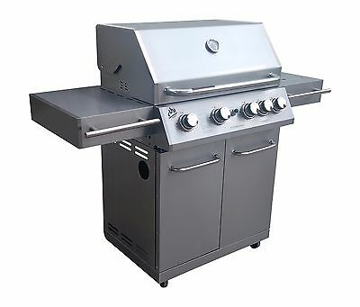 NEW 4 Burner Stainless Steel BBQ   ON SALE Save $500