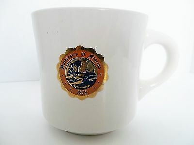 Vintage University Of Florida Gators School Seal Coffee Mug Tea Cup Usa