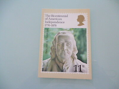 great britain 1976 PHQ Cards series 15 Bicentennial of american independence x 1