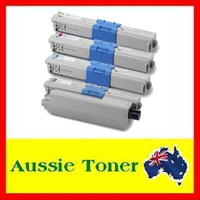 4x Toner Cartridge for OKI C301 C321 C301dn C321dn C301n C321n MC342 MC342dnw