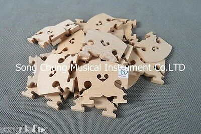 20pcs BAROQUE viola bridges fine maple laser precise,50mm #6540,viola part