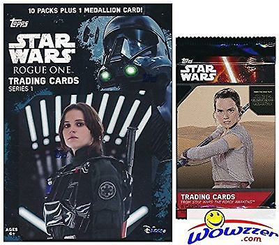 2016 Topps Star Wars Rogue One Series 1 EXCLUSIVE Factory Sealed Retail Box w...