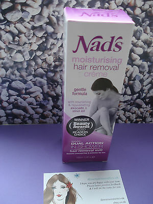 Nads Moisturising Hair Removal Creme 100ml
