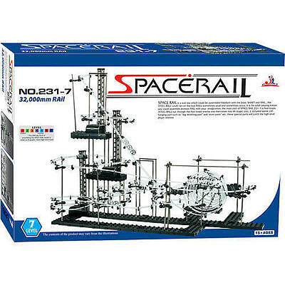SpaceRail Lvl 7 Motorised Complex Marble Run Space Rail From NSW Australia 231-7