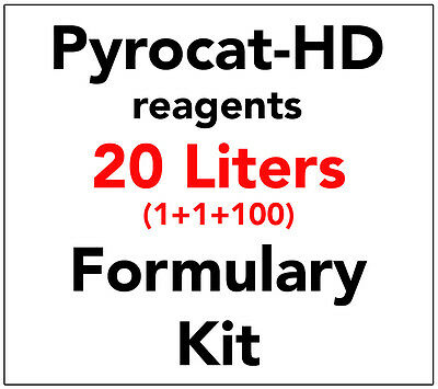 P Y R O C A T-Hd Staining Developer - Reagent Kit For 20 Liters - B&w Developer