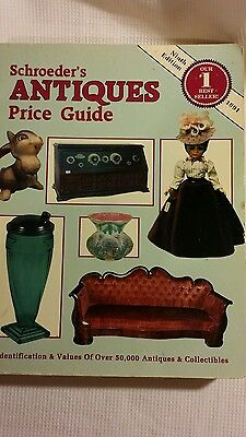Schroeder's ANTIQUES Price Guide 9th Edition (1991)