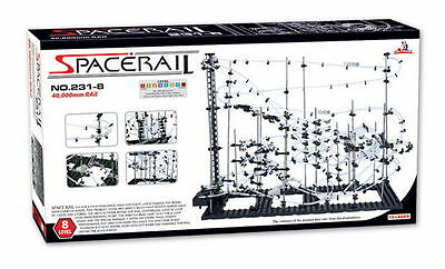 SpaceRail Level 8 231-8 Complex Motorised Marble Run NEW From NSW Australia