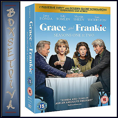 Grace And Frankie - Complete Seasons 1 & 2 *** Brand New Dvd Boxset ***
