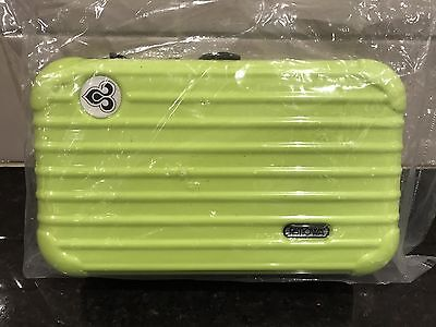NEW + SEALED Thai Airways First Class RIMOWA Airline Amenity Kit - Fluoro Green