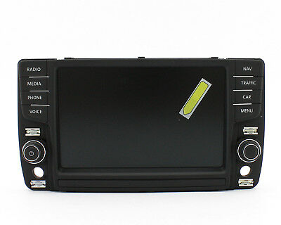 Bedieneinheit, 8´ Display Discover Pro MIB2 #VW Golf 7 VII, Passat B8 Tiguan AD1
