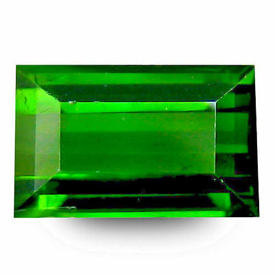 1.320Cts Excellent Top Luster Green Natural Tourmaline Octagon Loose Gemstones