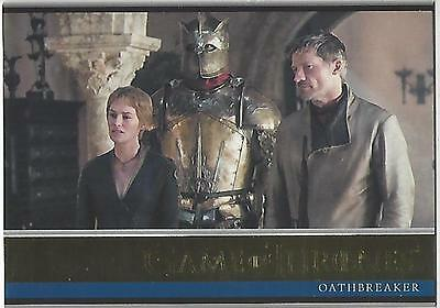 Game of Thrones Season 6 Six Base Parallel Gold 08 #097/150