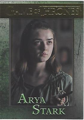 Game of Thrones Season 6 Six Base Parallel Gold 44 #093/150