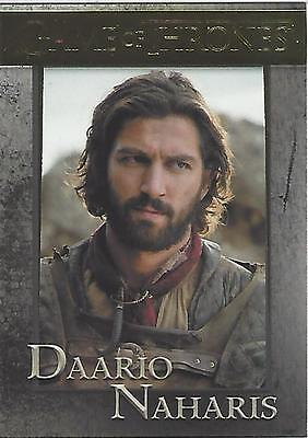 Game of Thrones Season 6 Six Base Parallel Gold 53 #026/150