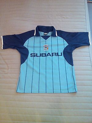 Coventry City FC authentic garment M/L football shirt