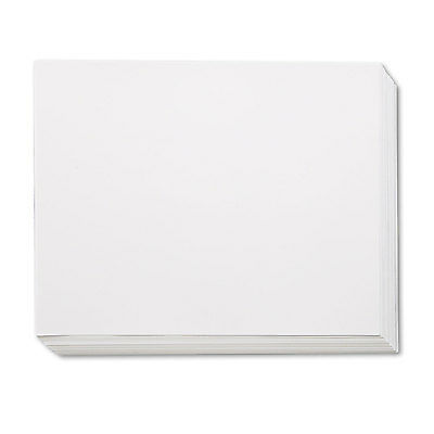 Pacon White Four-Ply Poster Board 28 x 22 100/Carton 104225