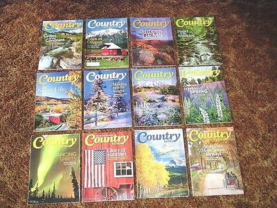 12 Country Magazine Back Issues From 2013