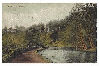 KINVER The Canal, Old Postcard by Price, Unused