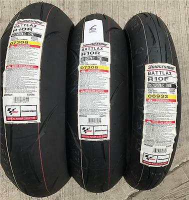 Bridgestone Battlax R10 Race Trackday Pack 1 X 120 70 17 2 X 180 55 17 Tyres